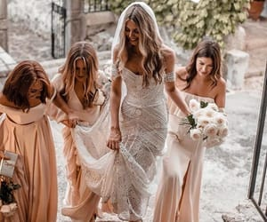 beautiful, blonde, and bridesmaids image