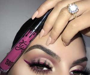 kylie cosmetics, cosmetics, and eyes image