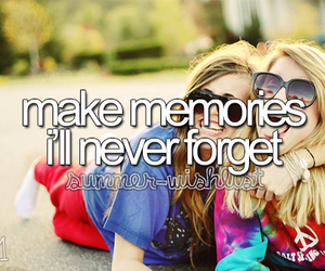 memories, friends, and summer image