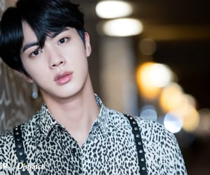 jin, bts, and love yourself tear image