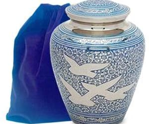 cremation urns for sale, buy funeral urns, and keepsake urns for ashes image