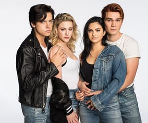 riverdale, kj apa, and camila mendes image