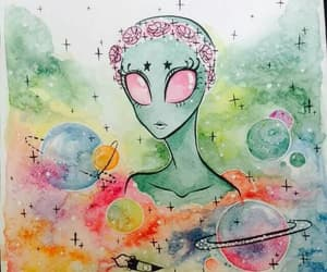 alien and art image