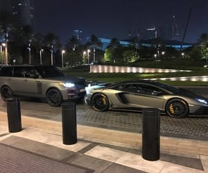 car, luxury, and night image