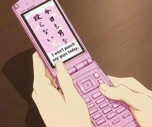 anime, pink, and kawaii image
