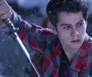 dylan, stiles, and tv show image