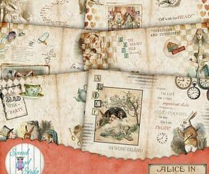 alice in wonderland, aliceinwonderland, and etsy image