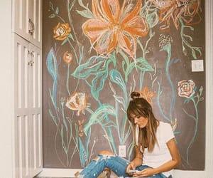 amazing, flowers, and girl image