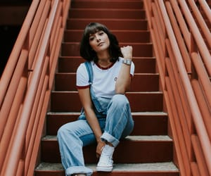 stairs, fashion, and girl image