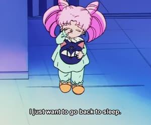 anime, sleep, and cute image