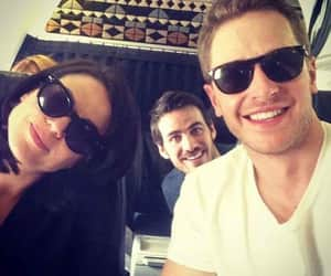 josh dallas, once upon a time, and lana parrilla image