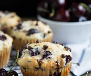 baking, breakfast, and cherry image