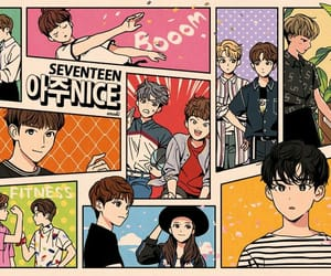 very nice, woozi, and s.coups image