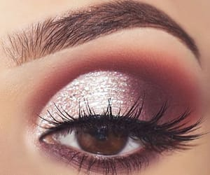makeup, eye, and eye makeup image