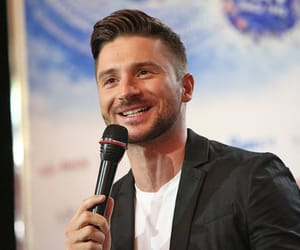 handsome, smile, and eurovision image