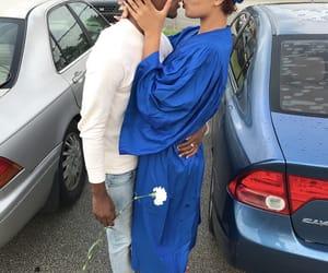 couple, graduation, and couple goals image