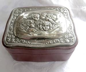 etsy, jewelrybox, and vintage jewelry box image