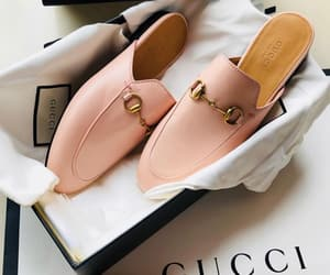 gucci, pink, and shoes image