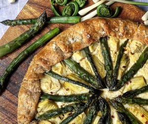 asparagus, beautiful, and kitchen image