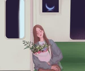dormir, gif, and buenas noches image