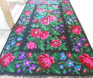 eco-friendly, etsy, and floral carpet image