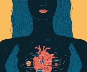 arte, ilustracion, and sentir image