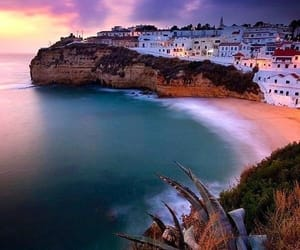 portugal, beach, and algarve image