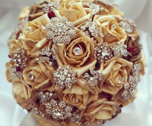 beautiful, bouquet, and crystal image