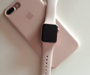 apple, iphone, and iwatch image
