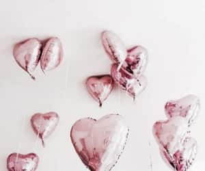 hearts and rose gold image