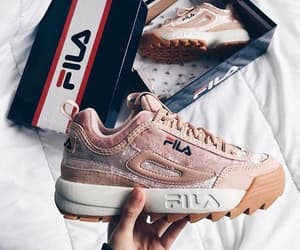 Fila and sneakers image