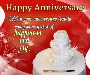anniversary, greetings, and quotes image