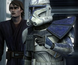 clone trooper, Anakin Skywalker, and animation image