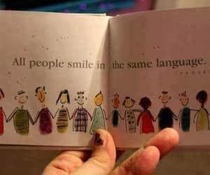 smile, people, and language image