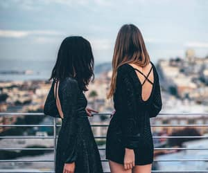 girl, style, and friends image