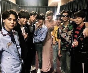 jin, Taylor Swift, and rm image