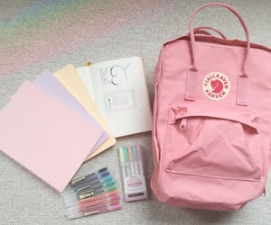 pink, kanken, and pastel image