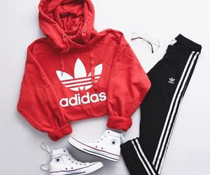 adidas, clothes, and converse image