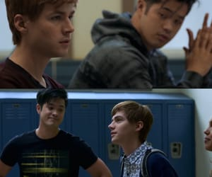 13 reasons why, netflix, and miles heizer image