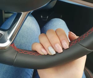 car, nails, and simple image