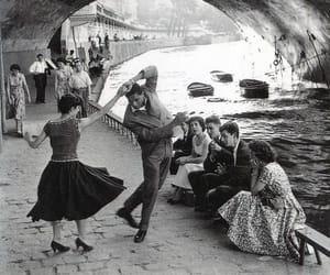 dance, vintage, and paris image