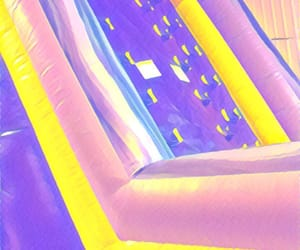 arcade, bouncy house, and slide image