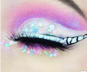 beautiful, make up, and unicorn image