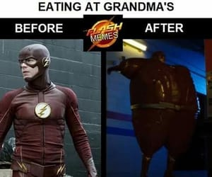 DC, meme, and barry allen image