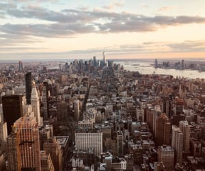 empire state, new york, and new york city image