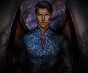 rhysand, acotar, and acomaf image