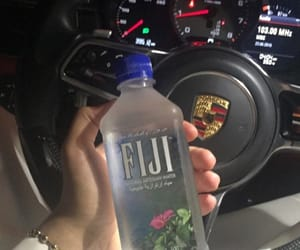 car, fiji, and water image