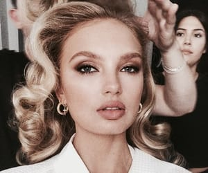 model, romee strijd, and hair image