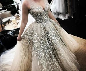 amazing, dress, and evening gown image