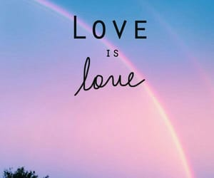 love, rainbow, and lgbt image